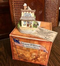 Maurice Wideman American Collection Tobacconist Ac-032 John Hines Box Signed Coa