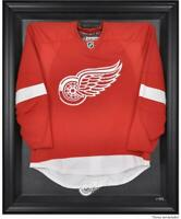 Detroit Red Wings Black Framed Logo Jersey Display Case - Fanatics Authentic