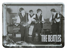 The Beatles CAVERN CLUB Metal Sign Steel Fridge Magnet (8cm x 11cm)