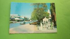 Old 1970s Australian Postcard, Hay Nsw, View Of The Main Street