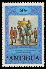ANTIGUA 510a (SG583a) - Queen Elizabeth II Coronation Jubilee (pa14935)