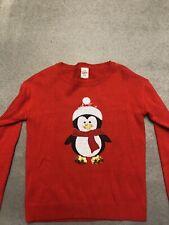 Penquin Christmas Jumper 8-10