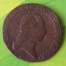 1 Kreuzer 1800, Münzzeichen C, Kaiserreich Franz II., Kupfermünze