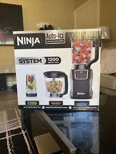 Ninja Kitchen System with Auto IQ Boost & 7-Speed Blender Model BL493 Brand New