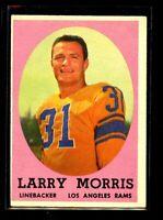 1959 TOPPS #50 LARRY MORRIS RAMS EX D023080