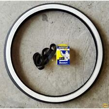 Pneu Deli Tire 24 Pouce 600 45B Flanc Blanc + Chambre + Fond Solex 330 660 1010