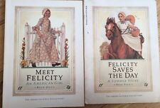 LOT OF 2 American Girls Doll Collection Books, Felicity : First Edition 1991