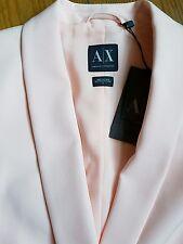 Georgio Armani AX Designer Smart Slim Rose Bébé Tailored Blazer/Veste