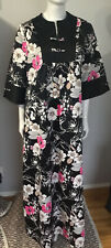 New listing Vintage 60's 70's Mei Jan Hawaii Asian Kimono Style Caftan Maxi Dress Size 14