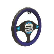 Daihatsu Materia Black/Blue Sports Grip 37-39cm Steering Cover