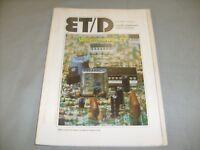 Electronic Technician Dealer Magazine Feb 1979 , TV Repair Betamax I , Antenna