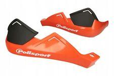 Polisport Hand Guards 22mm Handlebar Orange Universal For KTM MX Enduro