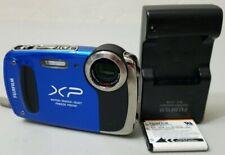 Fujifilm Finepix XP55 14 MP 5X Zoom Wateproof Tough Digital Camera Blue