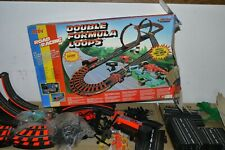 90'S VINTAGE SLOT CAR TRACK ARTIN DOUBLE FORMULA LOOPS ROAD RACING BOXED