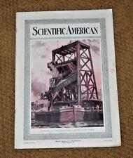 December 30, 1917 Scientific American Magazine - TRANSFERRING COAL TO BARGE WWI