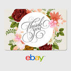 eBay Digital Gift Card - Thank You - Flower Array -  Email Delivery