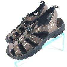 8492376cb867 Gotcha Mens Size 8 Brown Nylon Passage Hiking Sandals EUC SBTS