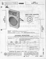 Sony TR-510 Sams Photofacts Original Vintage Transistor Radio FREE SHIPPING