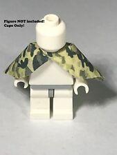 LEGO Star Wars Custom Figure Cape Lot of 1 Endor World War 2 Sniper Woodland