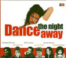 Dance The Night Away 7 (2003) BOX3CD NEW Fr David Words. Heatwave. Boogie Nights