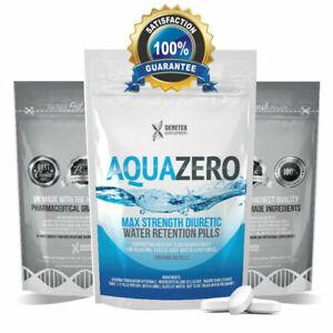 AQUA ZERO, Anti Inflammatory, Diuretic Pills, Detox Water Retention Tablets
