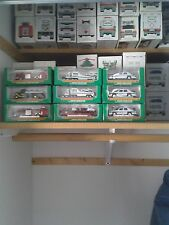 HESS MINI TRUCKS ONLY4 SALE  PRISTINE CONDITION STORED AT ROOM TEMP. MUST SELL.
