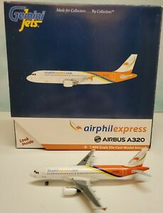 Gemini Jets 1:400 AirPhilExpress A320 RP-C3227 Airbus Phillipines GJGAP1129