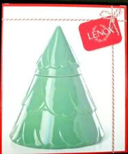 "Lenox ~ Balsam Lane Christmas Tree Figural Cookie Jar ~ 10"" ~ New!"