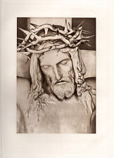 "FRANCOIS RUDE Antique 1800s Religious Print ""Suffering of Christ"" FRAMED COA"