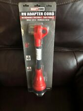 Valterra A10-3050Hdvp Detachable Adapter Cord 30 Amps - 50Af Red 12 in