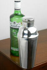 More details for cocktail shaker - vintage - silver plated - pint sized - epns a1 made in england