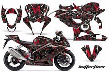 AMR Racing Graphic Kit Wrap Part Suzuki GSXR 1000 Street Bike 05-06 BUTTERFLY RK