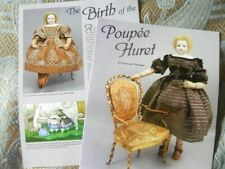 7p History Article + Pics -  Antique 19th Century French Fashion Huret Dolls