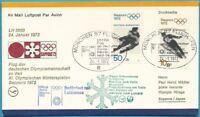 Federal Carta por Correo Aéreo De 1972 LH 5650 24.1.1972 - Aerea El