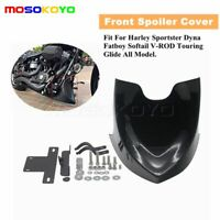 Chin Front Spoiler Fairing For Harley Sportster XL Softai V-ROD Touring Glide