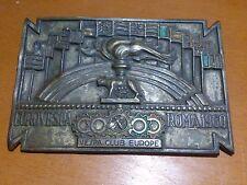 Vespa Eurovespa Euro Vespa Placa Roma 1960 Olimpiadas - Plate Piastra