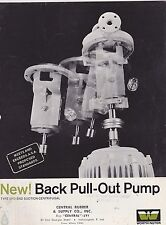 VINTAGE CATALOG #2976 - 1961 WORTHINGTON BACK PULL OUT PUMP