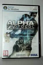 ALPHA PROTOCOL GIOCO USATO OTTIMO STATO PC DVD VERSIONE ITALIANA ML3 42336