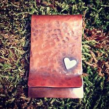 Personalised Money Clip ~ Copper & Silver Money Holder / Best Man / Grooms Gift