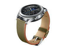 Genuine Samsung Gear S3 Classic Leather Band ET-YSL76M (Olive Green)