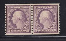 493 Pair VF-XF original gum never hinged with nice color cv $ 75 ! see pic !