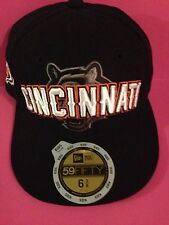 Cincinnati Bengals New Era Fitted hat size 6 3/8 Black