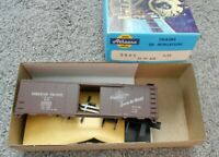 ATHEARN 40' AAR BOX CAR HO GAUGE CANADIAN PACIFIC PLASTIC KIT NIB