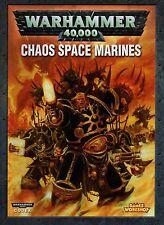 WARHAMMER 40.000-CHAOS SPACE MARINES-CODEX-ARMEEBUCH-Hintergrundwissen-Rarität