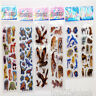 6 Sheets Steroscopic Puffy Lifelike Stickers Scropbook Toys School Reward  Gifts