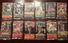 7 Eleven Phone Card Set 12 All Unopened Ripken Griffey Thomas Puckett Baseball