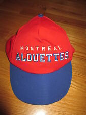 Vintage MONTREAL ALOUETTES (Adjustable Snap Back) Cap
