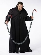 HALLOWEEN PAIR OF MEAT HOOK CHAINS  BUTCHER PROP DECOR HAUNTED HOUSE