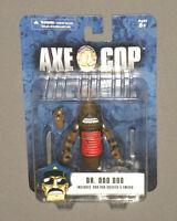 """Axe Cop 4"""" Action Figure Dr. Doo Doo w Doo Doo Soldier & Sword Carded MOC NEW"""