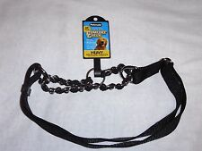 """Petmate Mighty Link Comfort Check Collar Adjustable 1""""x17-34"""" training New Large"""